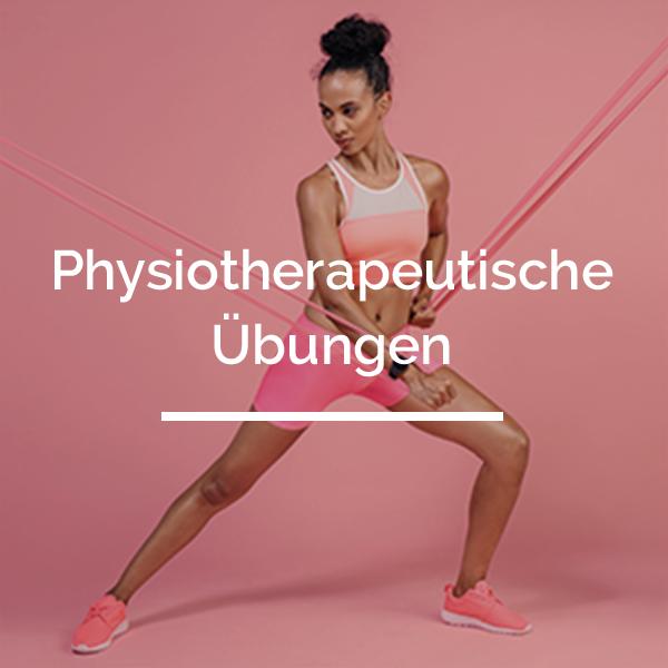 Physiotherapeutische Übungen